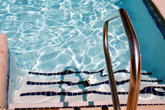 Swimming pool stairs Stock Image