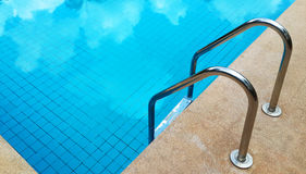 Swimming pool with stairs. Stock Images