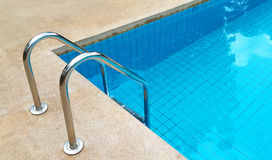 Swimming pool with stairs. Stock Image