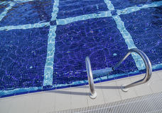 Swimming pool with stairs Stock Photography