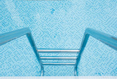 Swimming pool stairway Stock Photography