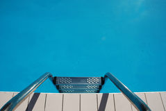 Swimming Pool Steps Stock Photography