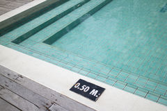 Swimming pool with steps Stock Photography