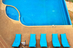 Swimming-pool Royalty Free Stock Photos