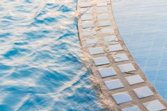 Swimming pool. With sunny reflections Stock Image