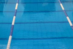Swimming pool surface Stock Images
