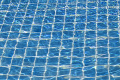 Swimming pool texture background. Royalty Free Stock Photo