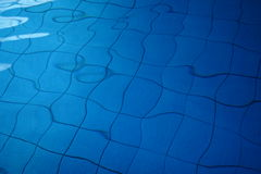 Swimming Pool Texture. Detail of the ground of a swimming pool Royalty Free Stock Photo