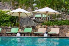 Swimming pool, Thailand. Swimming pool on island Koh Phangan,Thailand stock photography