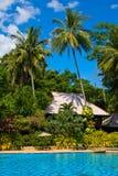 Swimming Pool. Thailand . Royalty Free Stock Photos