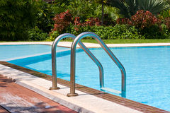 Swimming pool , Thailand. Stock Photos