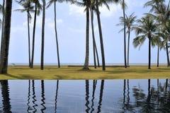 Swimming pool, Thailand Phang Na Royalty Free Stock Photos