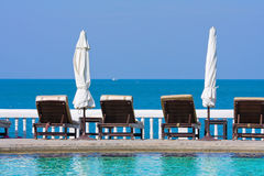 Swimming pool, Thailand. Royalty Free Stock Photography