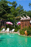 Swimming pool , Thailand. Stock Images