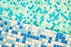 Swimming pool tile Stock Image