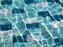 Swimming pool tiles Stock Photography
