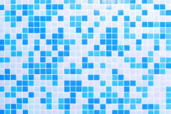 Swimming pool tiles Royalty Free Stock Images