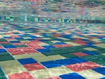 Swimming Pool Tiles royalty free stock photo