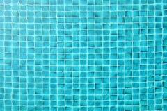 Swimming pool tiles Stock Photo