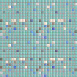 Swimming Pool Tiles Seamless Pattern Stock Photography