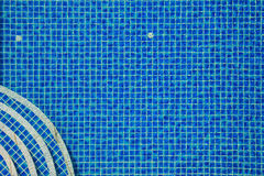Swimming pool tiles Stock Photos