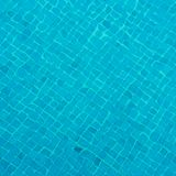 Swimming pool tiles Stock Photo