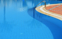 Swimming pool in touristic resort Stock Photo