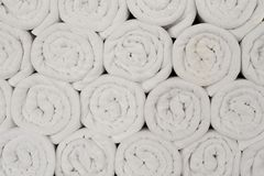 Swimming pool Towels texture, background Royalty Free Stock Images