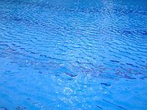 Swimming pool trembling surface Stock Photography