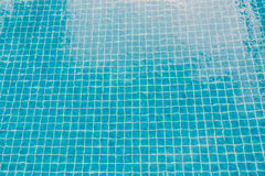 Swimming pool with turquoise blue tiles can be used us backgroun. Swimming pool with turquoise blue cray tiles can be used us background Royalty Free Stock Photos