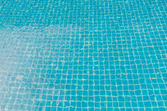 Swimming pool with turquoise blue tiles can be used us backgroun. Swimming pool with turquoise blue cray tiles can be used us background Royalty Free Stock Photography