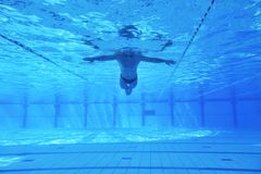 Swimming pool underwater Stock Photography