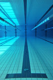 Swimming pool underwater Royalty Free Stock Photos