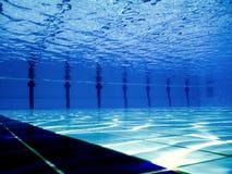 Swimming pool underwater. Stock Photos