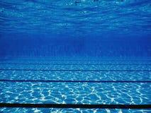 Swimming pool underwater. Stock Images