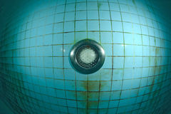 Swimming pool underwater fish eye view Royalty Free Stock Photography
