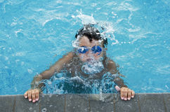 At the swimming pool Royalty Free Stock Photo