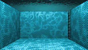 Swimming pool underwater scene Stock Photography