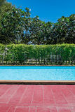 Swimming pool in village Stock Images