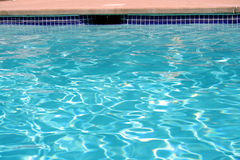 Swimming pool water Royalty Free Stock Images