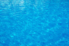 Swimming-pool water Royalty Free Stock Images