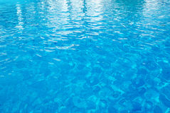 Swimming-pool water Stock Photo