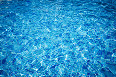 Swimming pool water Stock Photos