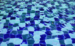 Swimming pool water background Stock Photography