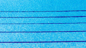 Swimming pool water background Stock Photo