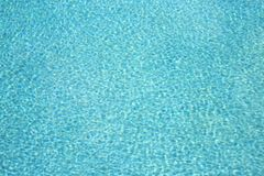 Swimming Pool Water Ripples Royalty Free Stock Images