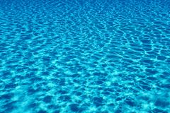 Swimming pool water sun reflection background. Ripple Water. royalty free stock photos