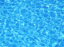 Swimming pool water. Texture Royalty Free Stock Image