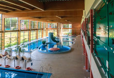Swimming pool wellness sanatorium.  Druskininkai, Lithuania Stock Images