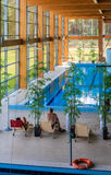 Swimming pool wellness sanatorium. Druskininkai, Lithuania Royalty Free Stock Photography